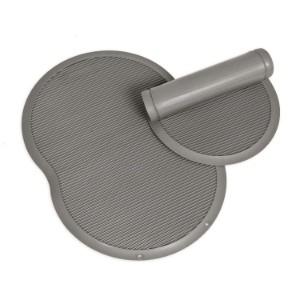 Petmate Brushed Nickel Replendish Food & Water Placemat