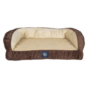 Serta Orthopedic Quilted Dog & Cat Couch Bed