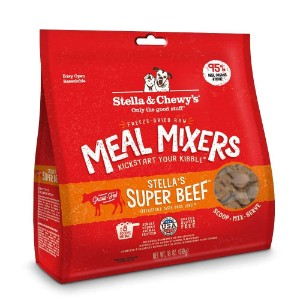 Stella & Chewy's Stella's Super Beef Meal Mixers Freeze Dried Raw Dog Food Topper