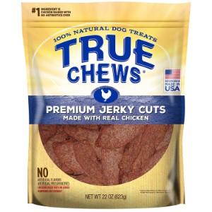 True Chews Premium Jerky Cuts With Real Chicken Dog Treats