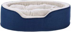Harmony Cuddler Orthopedic Dog Bed In Blue