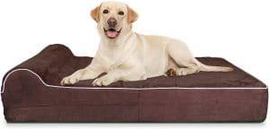 Kopeks 7 Inch Thick High Grade Orthopedic Memory Foam Dog Bed