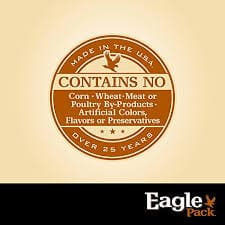 Eagle Pack Dog Food Guarantee