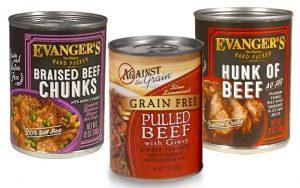 Evanger's Dog Food Types