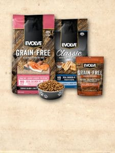 Evolve Dog Food Types