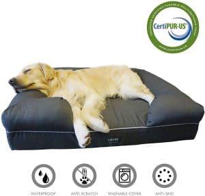 Loaol Durable Waterproof Memory Foam Pet Bed Mattress