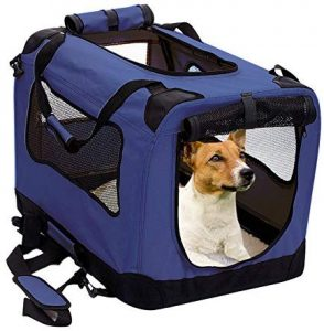 2pet Foldable Small Dog Crate