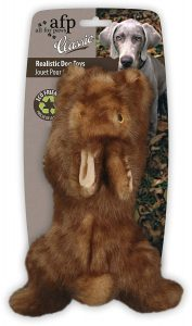 All For Paws Classic Brown Rabbit Pet Toy