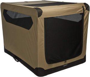 Amazonbasics Folding Large Soft Dog Crate