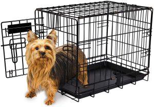Aspen Pet 19 Inch Single Door Home Training Crate