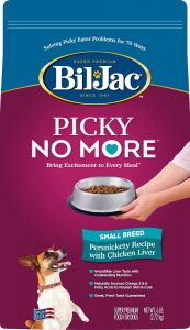 Bil Jac Picky No More Small Breed Chicken Liver Dry Dog Food