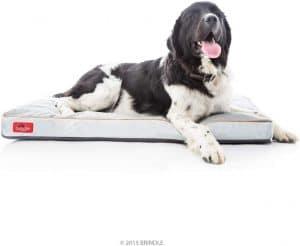 Brindle Soft Large Memory Foam Dog Bed