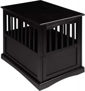 Casual Home Chappy 22.5 Inch Wooden Pet Crate With Wood Slats