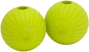 Chew King Fetch Balls Extremely Durable Natural Dog Toy Ball,