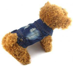 Doggyzstyle Pet Vests Dog Denim Jacket