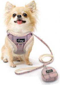 Didog Soft Cosy Dog Vest Harness And Leash Set