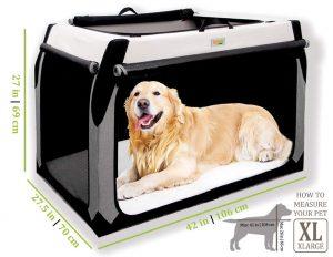 Doggoods Large Foldable Travel Kennel