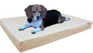Dogbed4less Small Memory Foam Dog Bed