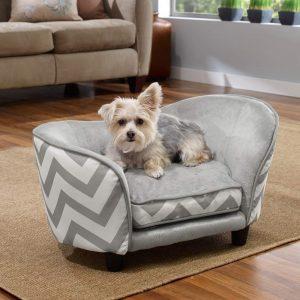 Enchanted Home Pet Snuggle Small Pet Sofa Bed