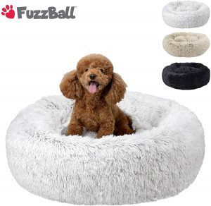 Fuzzball Fluffy Luxe Pet Bed For Small Dogs