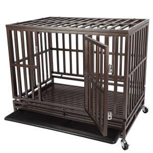 Gelinzon Heavy Duty Dog Cage