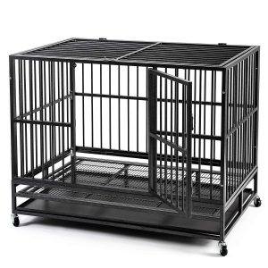 Hyd Parts Steel Large Dog Cage