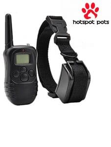 Hot Spots Pet Rechargeable Dog Training Collar.