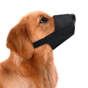 Idepet 1set Dog Muzzles Suit