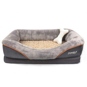 Joyelf Small Orthopedic Dog Bed