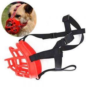 Jwpc Adjustable Anti Biting Dog Soft Silica Gel Muzzle