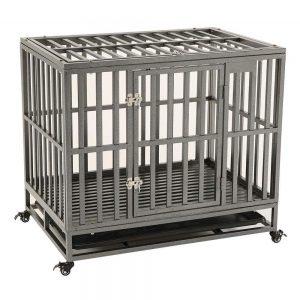 Kelixu Heavy Duty Dog Crate