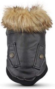 Lesypet Leather Dog Coat