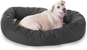 Large Bagel Pet Dog Bed By Majestic Pet Products