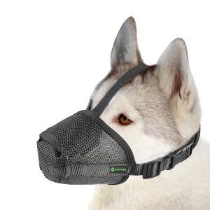 Lepark Nylon Mesh Dog Muzzle