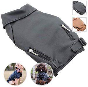 Lovelonglong Cool Dog Leather Jacket