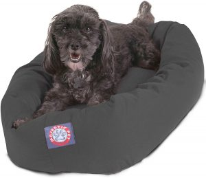Majestic Pet Products Small Bagel Pet Dog Bed