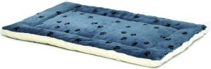 Midwest Pets Reversible Paw Print Large Pet Bed
