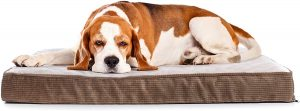 Milliard Quilted Padded Large Orthopedic Dog Bed