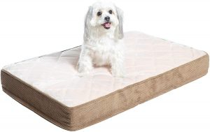 Milliard Quilted Padded Small Orthopedic Dog Bed