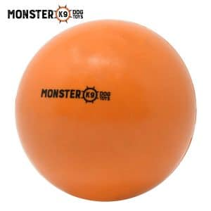 Monster K9 Dog Toys Rubber Ball