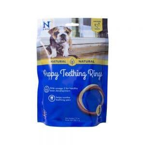 N Bone Puppy Teething Ring Chicken Flavor