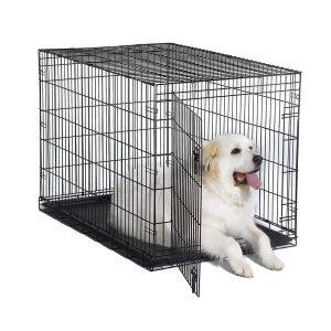 New World Folding Metal Heavy Duty Dog Crate
