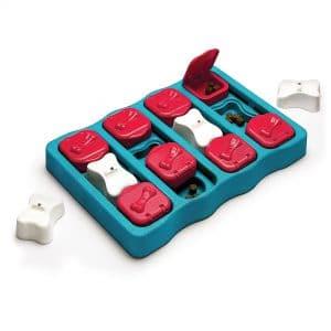 Outward Hound Ottoson Puzzle Brick Dog Toy