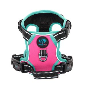 Phoepet 2019 Upgraded No Pull Large Dog Harness