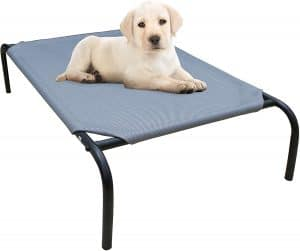 Phyex Heavy Duty Steel Framed Portable Elevated Pet Bed