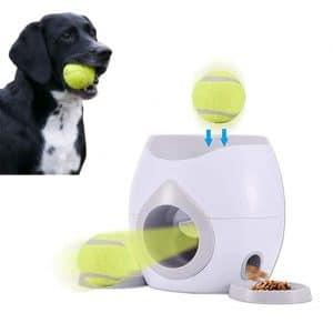Pandada Pet Interactive Tennis Ball Automatic Throwing Fetch Machine