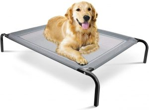 Paws & Pals Large Elevated Dog Bed