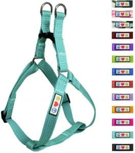 Pawtitas Pet Reflective Step In Dog Harness Reflective Vest Harness
