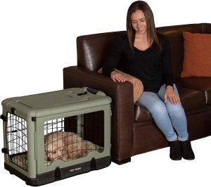 "Pet Gear ""the Other Door"" 4 Door 27 Inch Steel Crate"