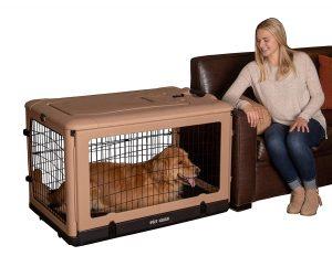 """Pet Gear """"the Other Door"""" 4 Door 42 Inch Steel Crate"""
